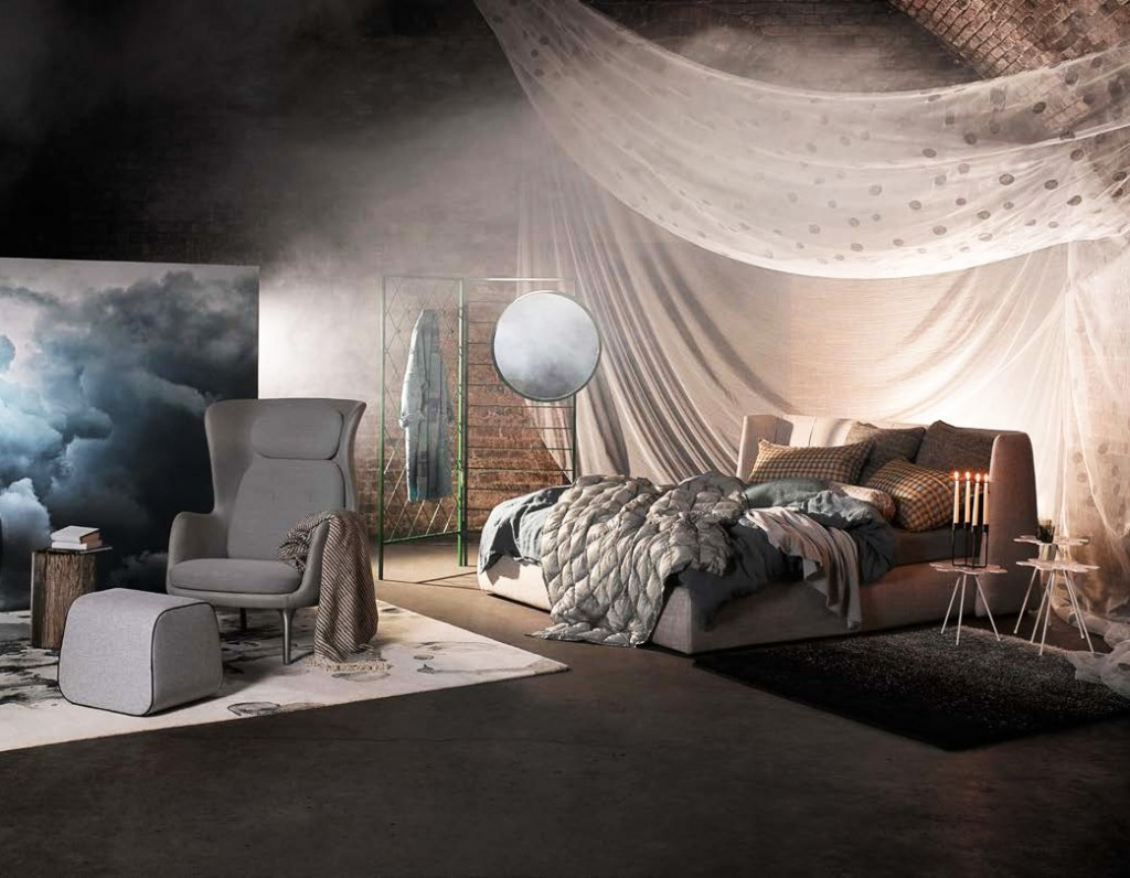 Bedroom shoot - Elle Decoration