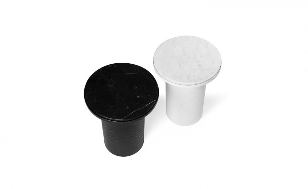Esaila - Vera & Kyte - Pedestal - Black and White