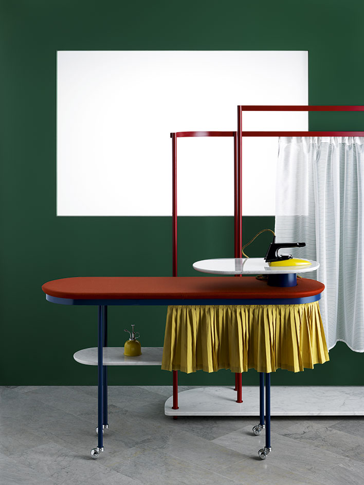 Vera & Kyte - Wallpaper Handmade - Ironing station