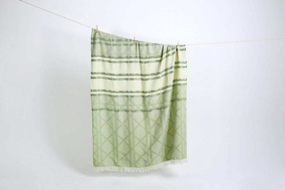 Vera-&-Kyte---Vienna-blankets---Green
