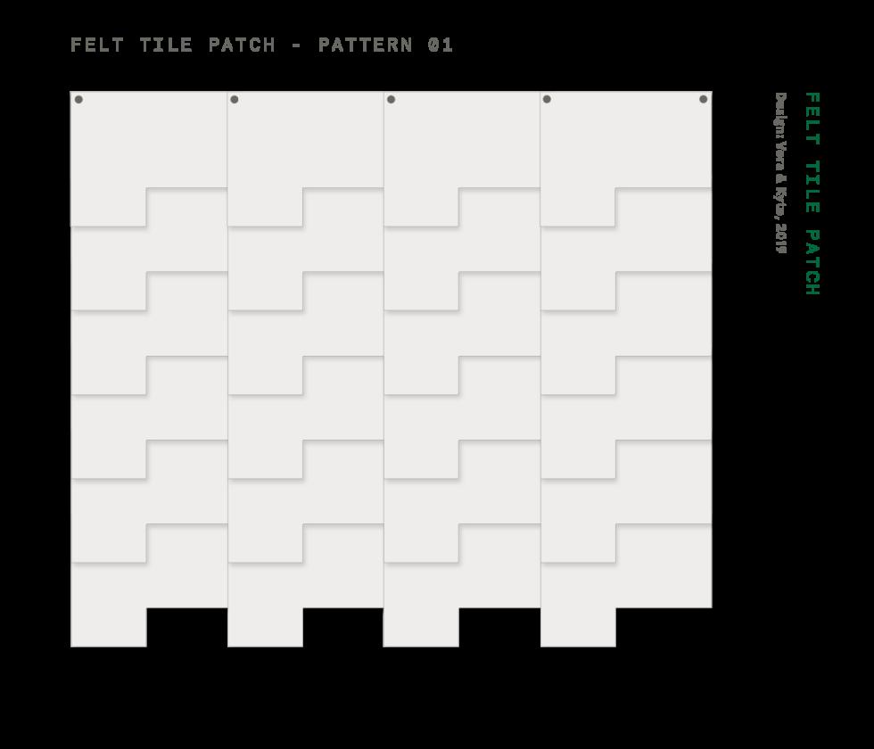 Felt+Tile+Patch+Pattern+1