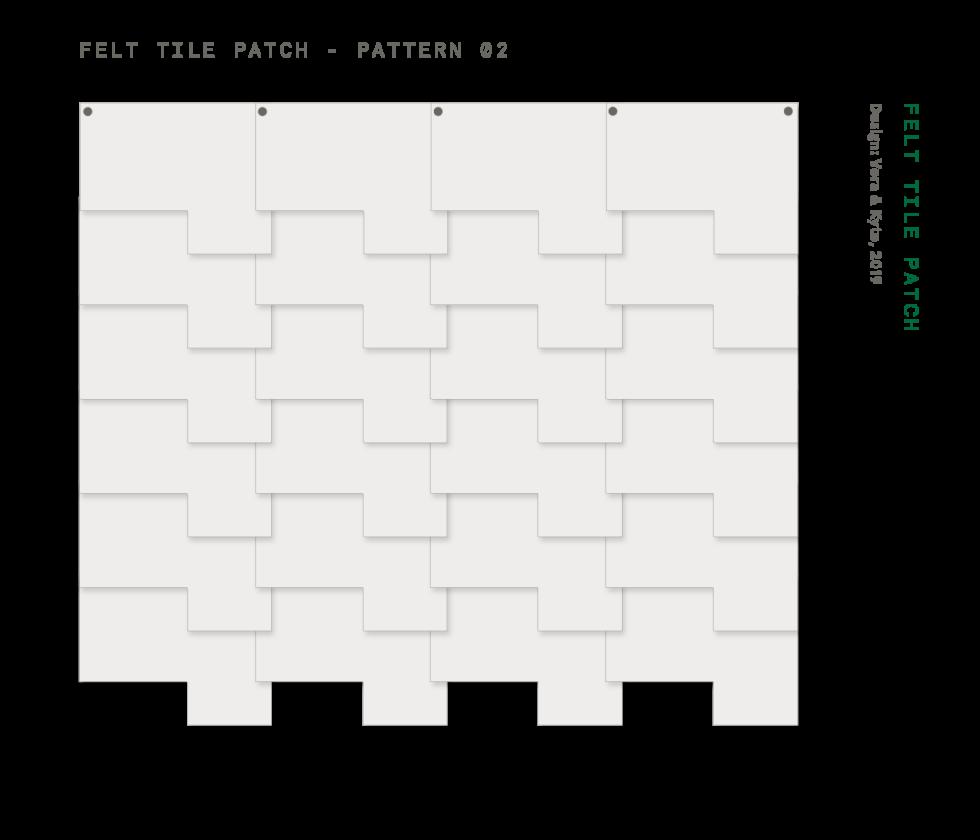 Felt+Tile+Patch+Pattern+2
