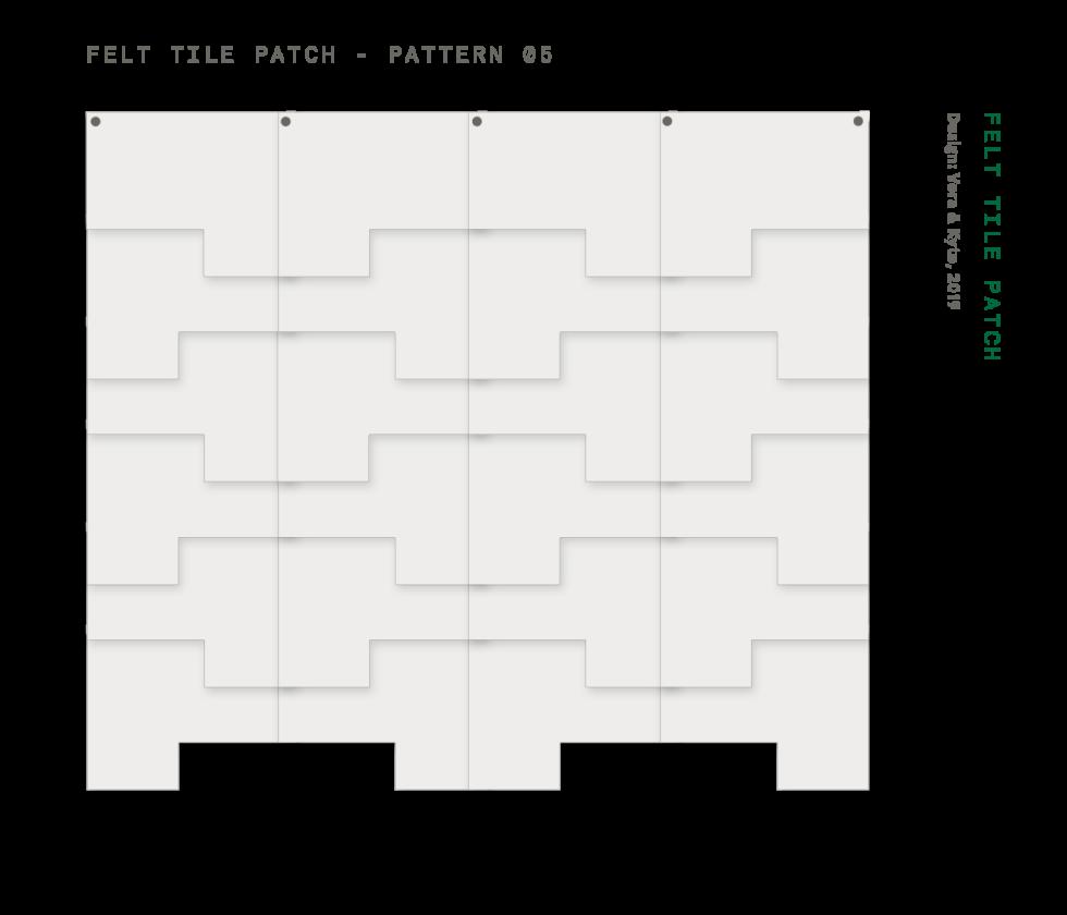 Felt+Tile+Patch+Pattern+5
