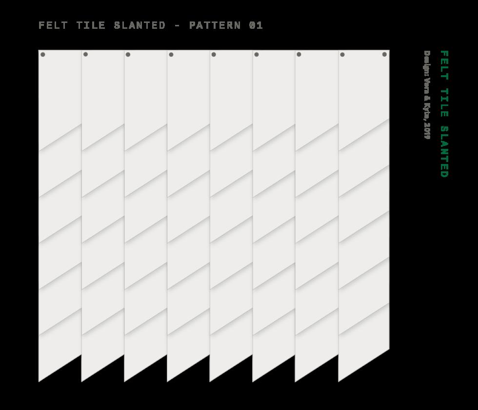 Felt+Tile+Slanted+patterns